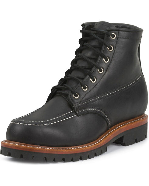 Chippewa Men's 1975 Original Insulated Trekker Mountaineer Boots - Moc Toe, Black, hi-res