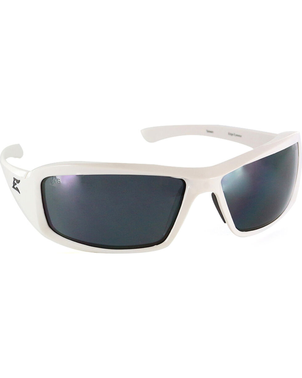Edge Eyewear Brazeau Safety Sunglasses, White, hi-res