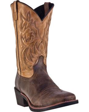Laredo Breakout Cowboy Boots - Square Toe, Bark, hi-res
