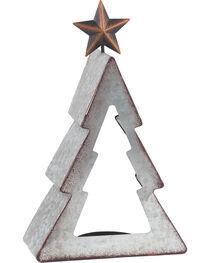 BB Ranch Galvanized Metal Tree Candle Holder - Medium, , hi-res