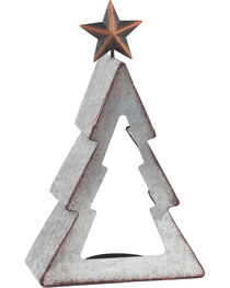BB Ranch Galvanized Metal Tree Candle Holder - Small, , hi-res