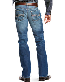 Ariat Men's Blue RLS Orignal Fit Outpost Jeans - Straight Leg , , hi-res