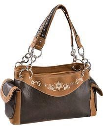 Blazin' Roxx Women's Starburst Handbag, Distressed, hi-res