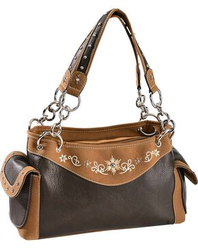 Blazin' Roxx Women's Starburst Handbag, Distressed, hi-res
