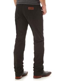 Wrangler Retro® Men's Black Slim Straight Jeans - Long, , hi-res
