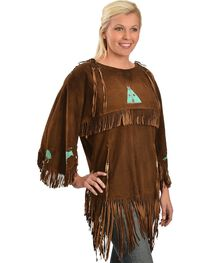 Kobler Leather Picachu Fringe Shirt, , hi-res