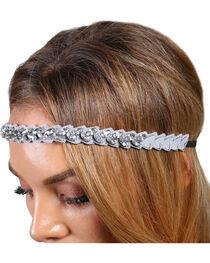 Shyanne® Women's Rhinestone Marquis Headband, , hi-res