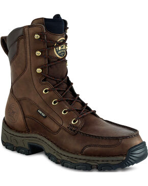 "Red Wing Irish Setter Men's Havoc 9"" Hunting Boots - Moc Toe, Brown, hi-res"