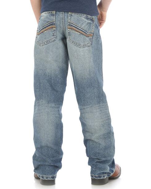 Wrangler Boys' Indigo (8-16) 20X No. 33 Relaxed Fit Jeans - Straight Leg , Indigo, hi-res