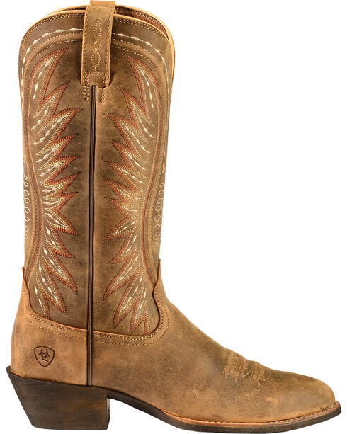Ariat Women's Ammorette Western Boots, Brn Bomber, hi-res