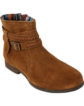 Minnetonka Women's Dixon Boots, Dusty Brn, hi-res