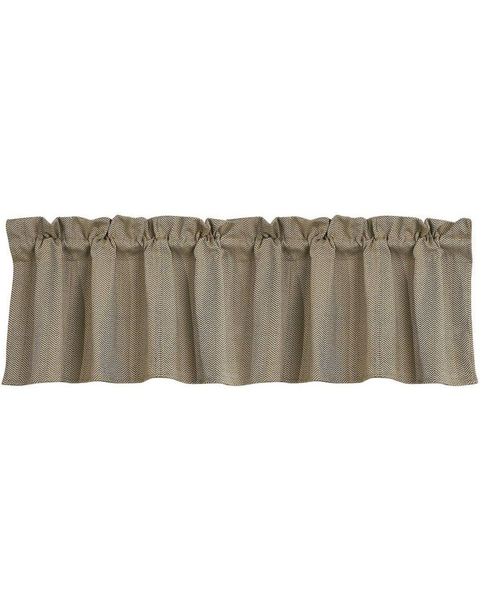 HiEnd Accents Fairfield Valance, Sand, hi-res