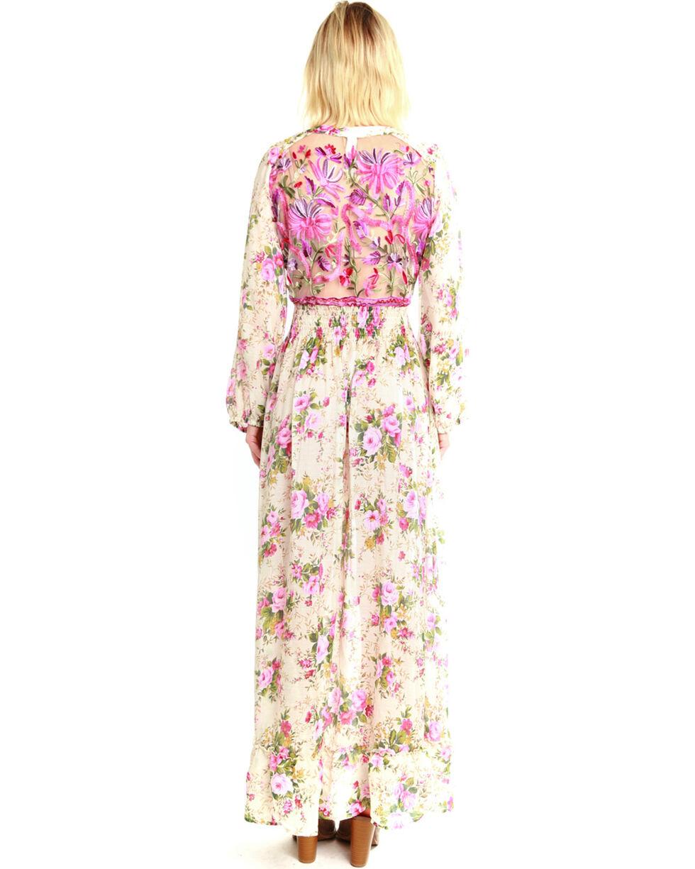 Aratta Women's Softness Floral Maxi Dress , Multi, hi-res