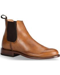 El Dorado® Men's Tan Leather Pull-On Urban Roper Boots - Round Toe, , hi-res