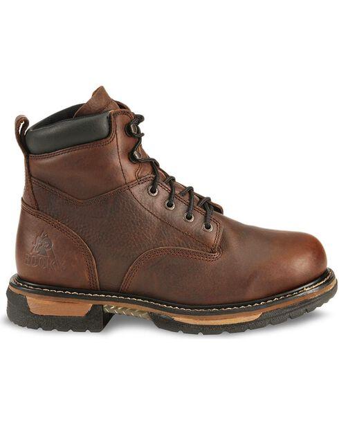 Rocky Men's IronClad Waterproof Work Boot , Bridle Brn, hi-res