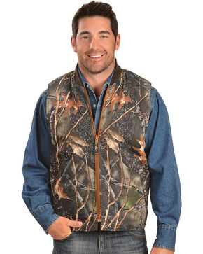 Exclusive Gibson Trading Co. Reversible Camo Vest, Camouflage, hi-res