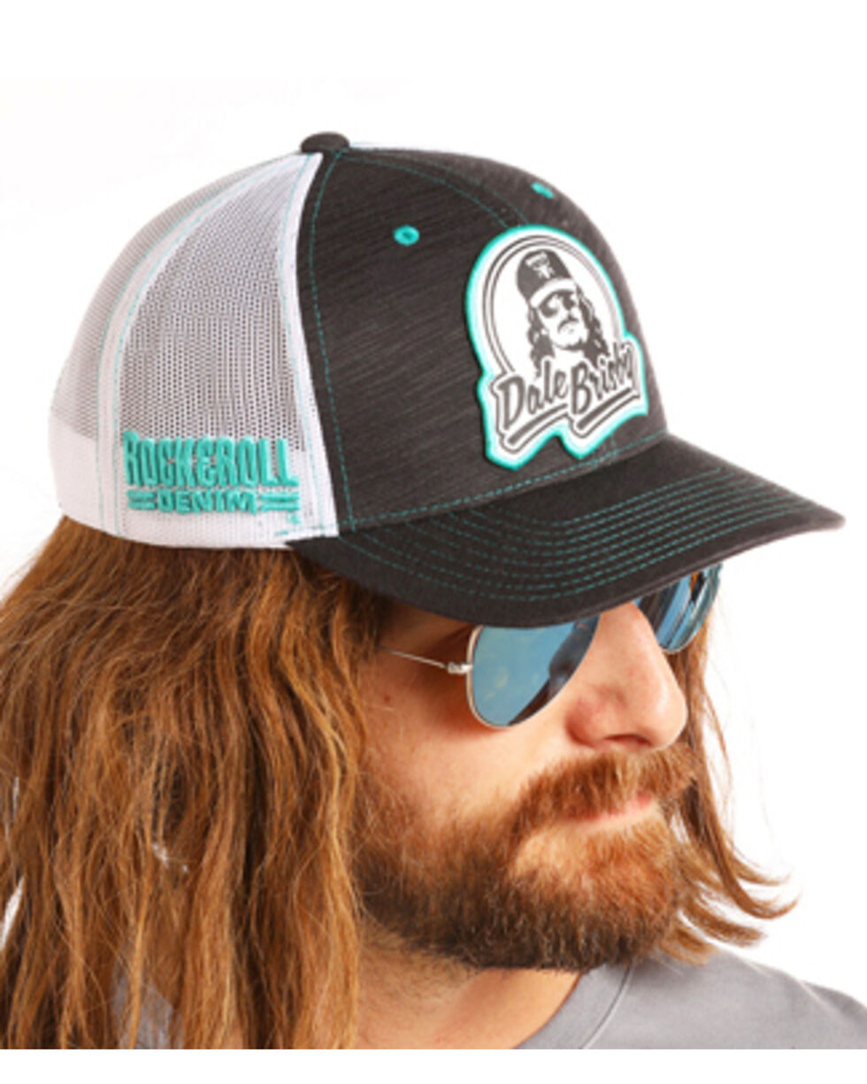 Dale Brisby Men's DB Patch Trucker Hat, Grey, hi-res