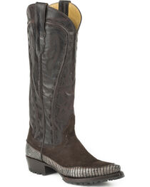 Stetson Women's Dakota Teju Lizard Fashion Western Boots - Snip Toe, , hi-res