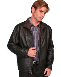 Scully Premium Lambskin Zip Front Jacket, , hi-res