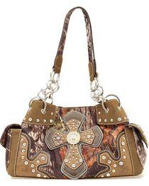 M&F Women's Blazin Roxx Mossy Oak Handbag, , hi-res