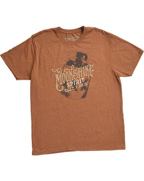 Moonshine Spirit Men's Devil's  Ride Graphic Tee, Rust Copper, hi-res
