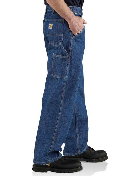 Carhartt Flame Resistant Utility Denim Dungaree Jeans, Midstone, hi-res