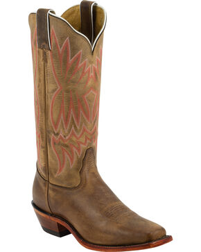 Tony Lama Women's Western Boots, Suntan, hi-res