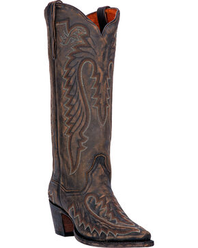 Dan Post Women's Heather Western Boots, Vintage, hi-res