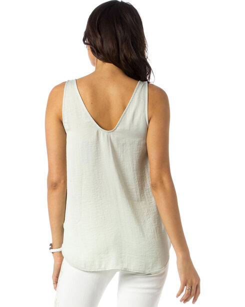 Miss Me Women's Sea Haze Tank, Green, hi-res