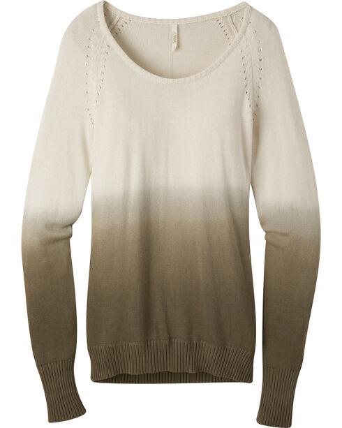 Mountain Khakis Women's Darby Dip-Dyed Sweater, Cream, hi-res