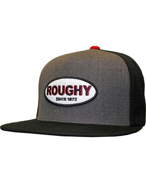 Hooey Men's Roughy Five Panel Baseball Cap , Grey, hi-res