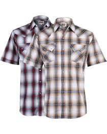 Ely Walker Men's Plaid Assorted Short Sleeve Shirt, , hi-res