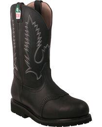 Boulet Men's Steel Toe Work Boots, , hi-res