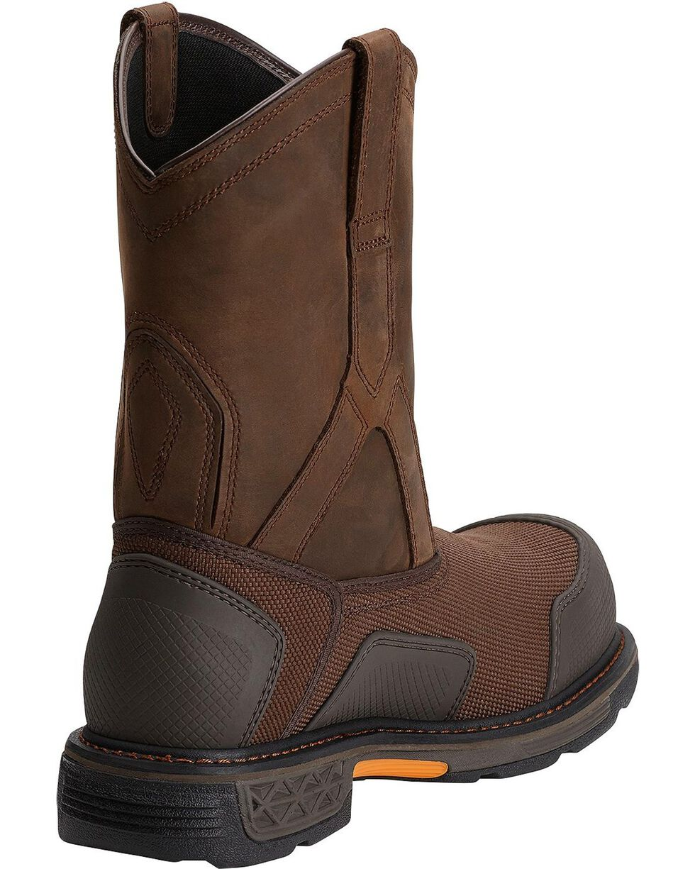 Ariat Men's Overdrive® XTR Pull-On H2O CT Work Boots, Brown, hi-res