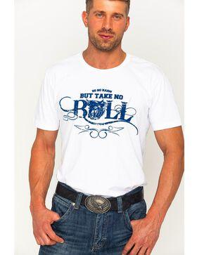 Cody James Men's Take No Bull Graphic T-Shirt, White, hi-res
