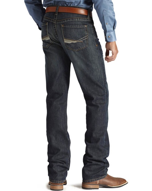 Ariat Men's M2 Relaxed Dusty Road Jeans, Denim, hi-res
