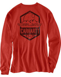 Carhartt Men's Maddock Graphic Great Outdoors Long-Sleeve T-Shirt , , hi-res
