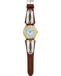 Montana Silversmiths Two Tone River Pebbles Watch , , hi-res