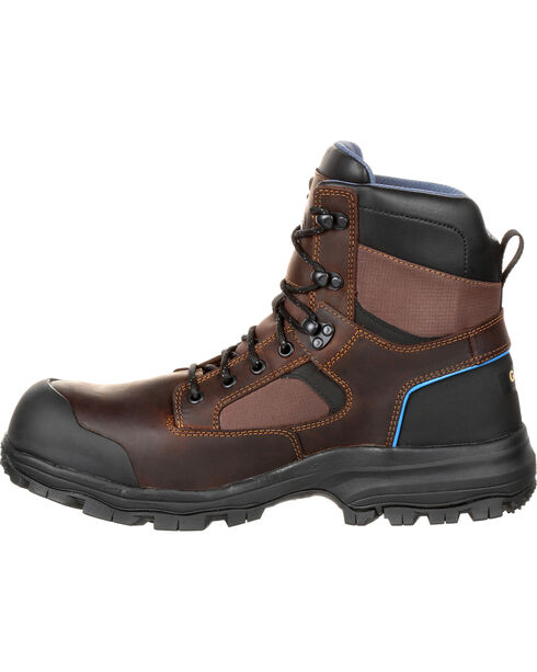 "Georgia Men's 6"" Composite Toe Work Boots, Brown, hi-res"