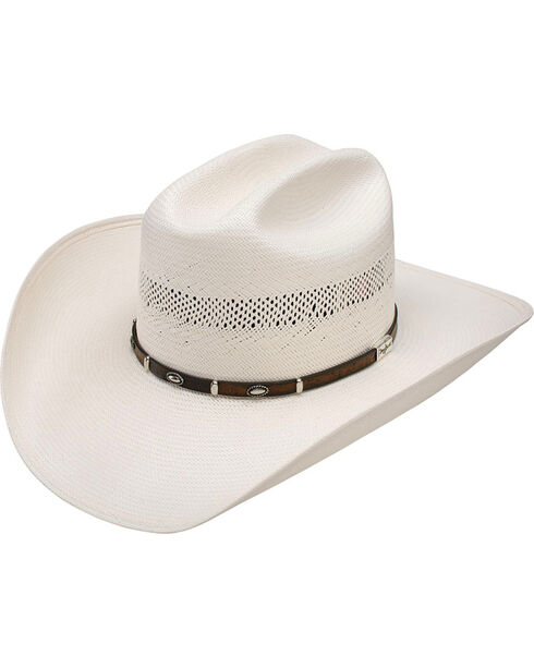 Resistol Men's Mesa 10X Straw Hat, Natural, hi-res