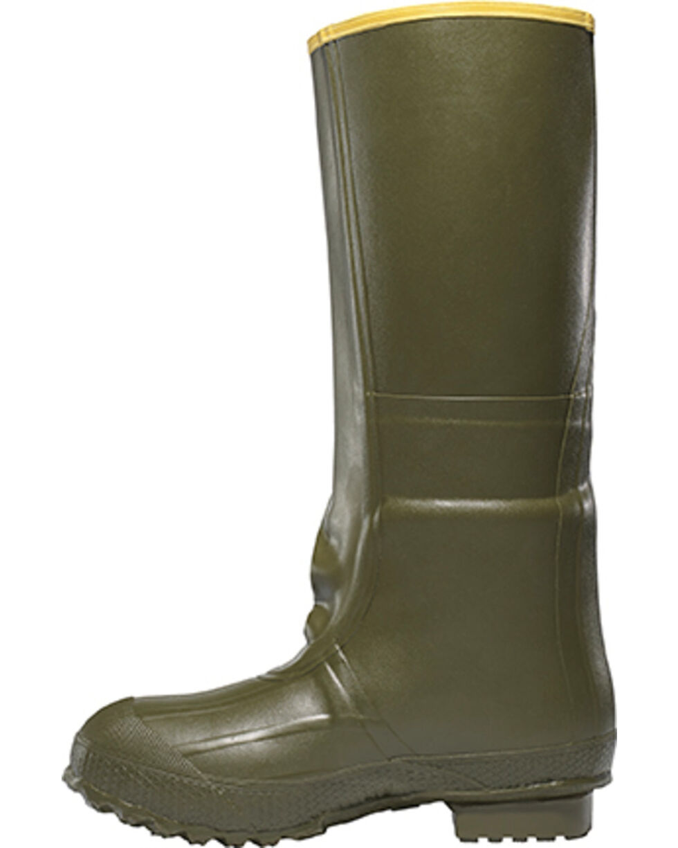 """LaCrosse Men's Insulated 2-Buckle 18"""" Hunting Boots, Green, hi-res"""