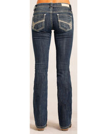 Rock & Roll Cowgirl Women's Rival Low Rise Jeans - Boot Cut , , hi-res