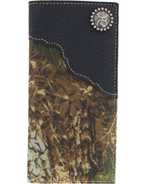 HOOey Men's Roughy Rodeo Camo Wallet, , hi-res