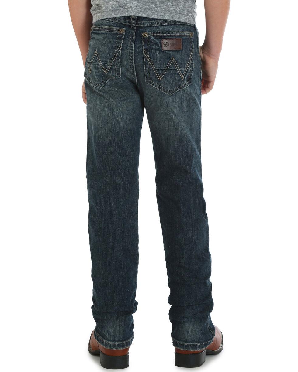 Wrangler Boys' (4-7) RETRO Slim Fit Jeans - Straight Leg , Indigo, hi-res