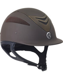 One K Defender Brown Matte Helmet, Brown, hi-res