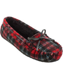 Minnetonka Women's Cally Plaid Slippers, , hi-res