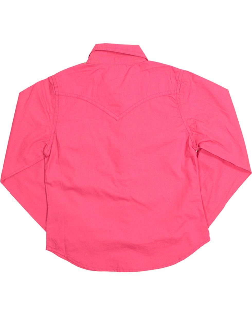 Cumberland Outfitters Girl's Rhinestone Long Sleeve Shirt, , hi-res
