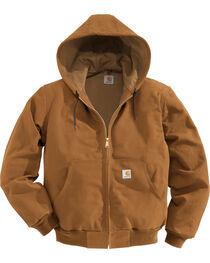Carhartt Men's Brown Thermal Lined Duck Active Jacket , , hi-res