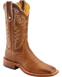 Tony Lama Men's Smooth Ostrich Exotic Boots, , hi-res