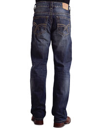 "Stetson Modern Fit Curved ""X"" Stitched Jeans, , hi-res"